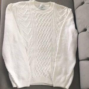 Top man white Sweater